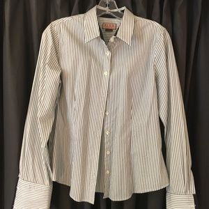 Thomas pink French-cuffed button down shirt